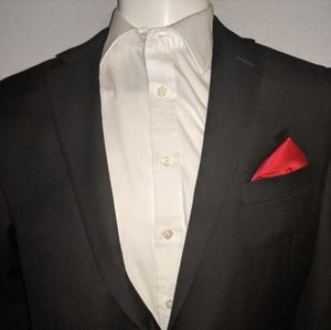 Calvin Klien 42R Black Suit Jacket